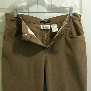 Bill Blass Pants Soft brushed material 14